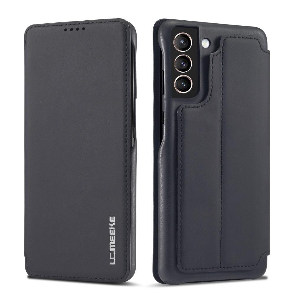Slim Lompakkokotelot Samsung Galaxy S21 musta