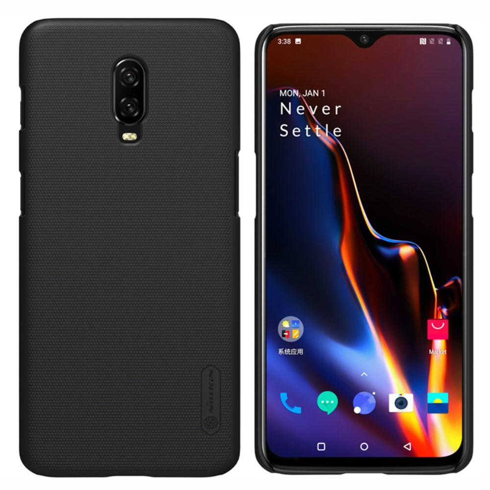 Super Frosted Shield OnePlus 6T musta