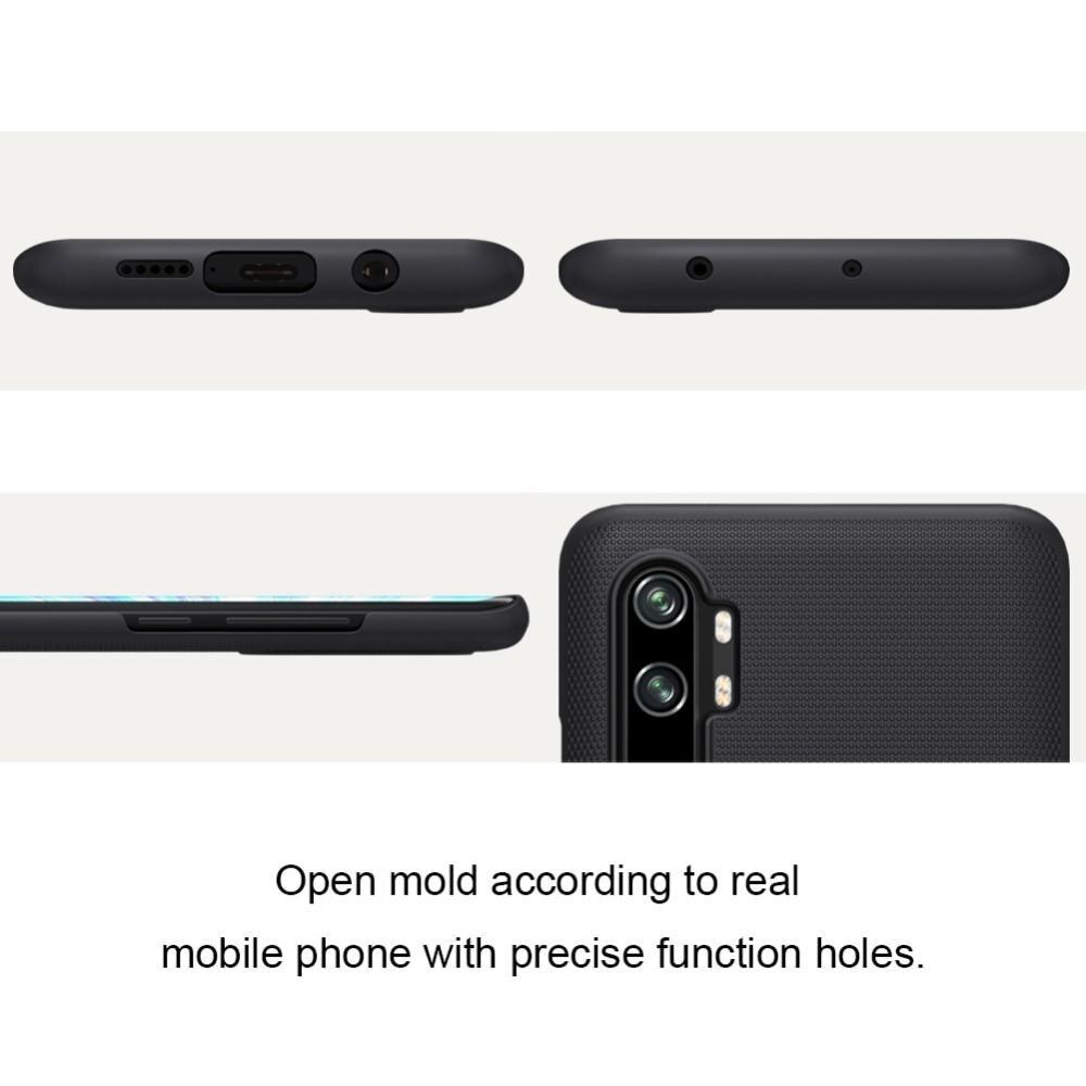 Super Frosted Shield Xiaomi Mi Note 10/10 Pro musta