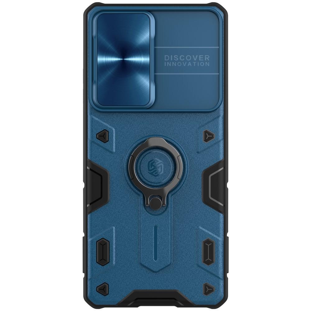 CamShield Armor Kuori Galaxy S21 Ultra blå