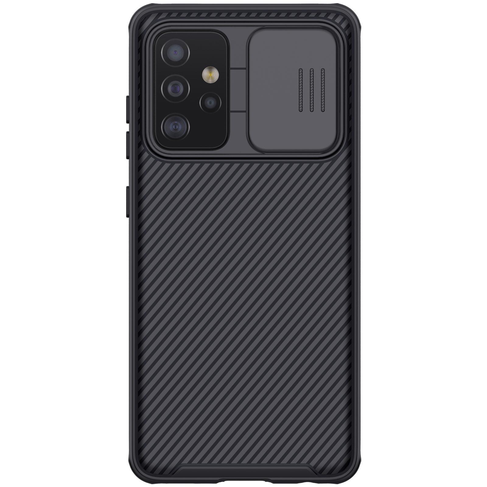 CamShield Kuori Galaxy A52 musta
