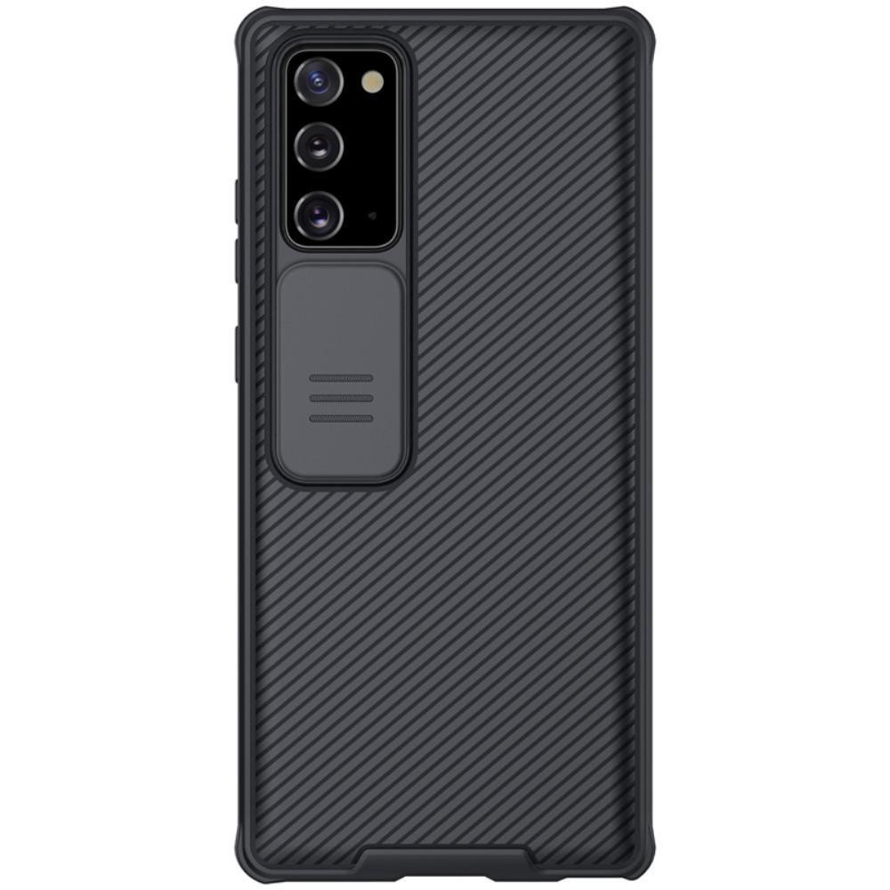 CamShield Kuori Galaxy Note 20 musta