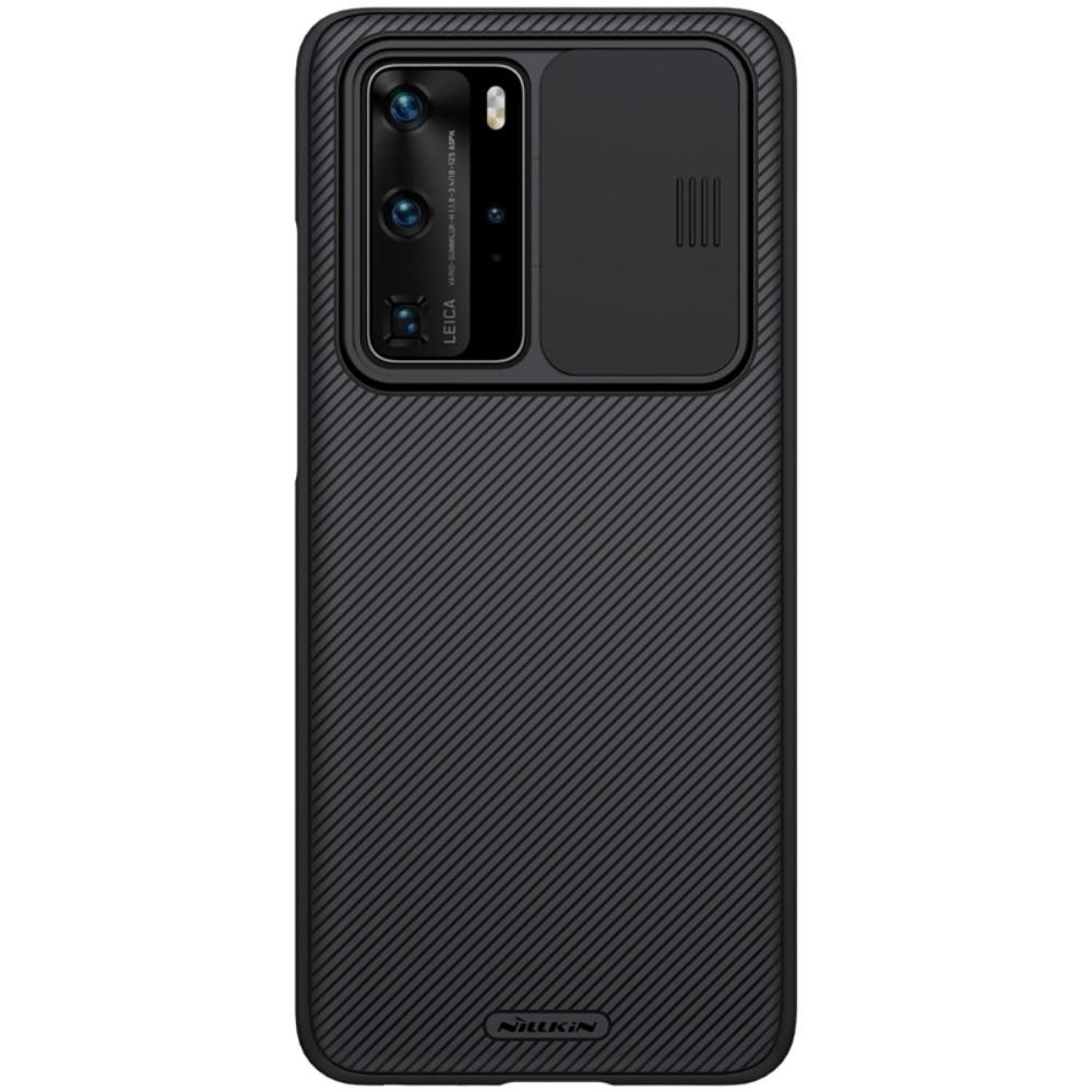 CamShield Kuori Huawei P40 Pro musta