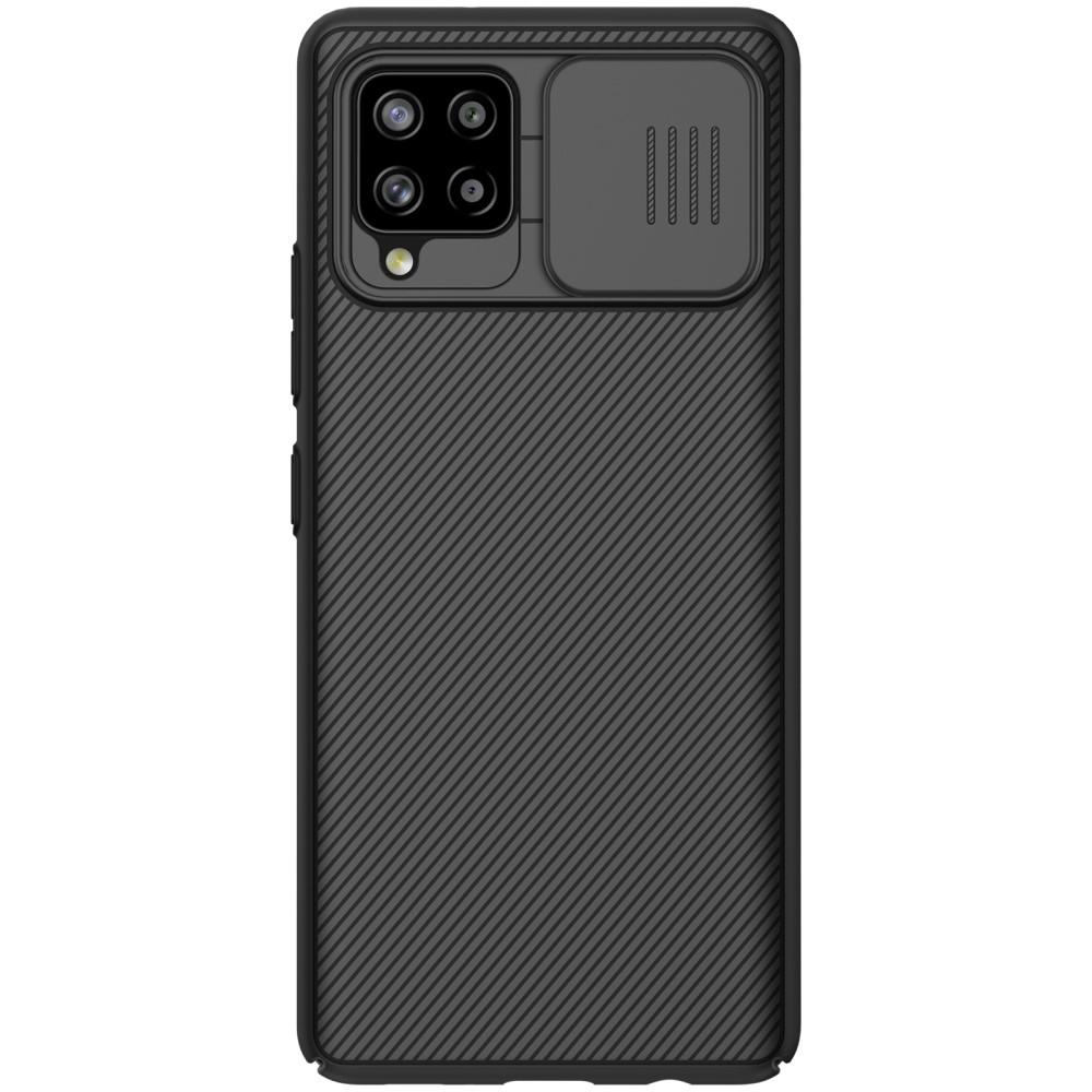CamShield Kuori Samsung Galaxy A42 5G musta