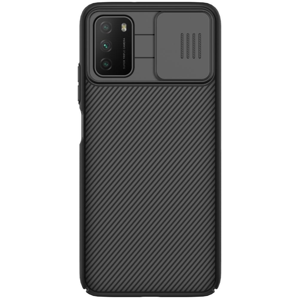 CamShield Kuori Xiaomi Poco M3 musta