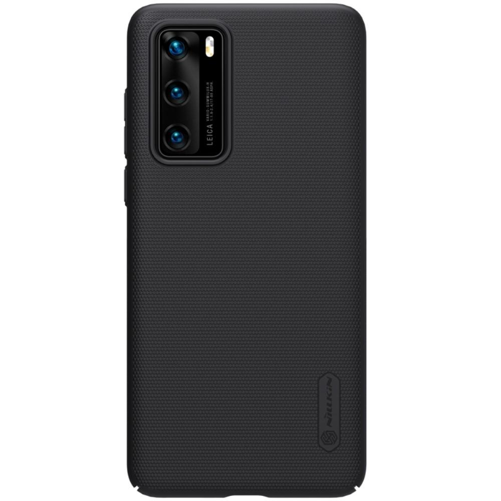 Super Frosted Shield Huawei P40 musta