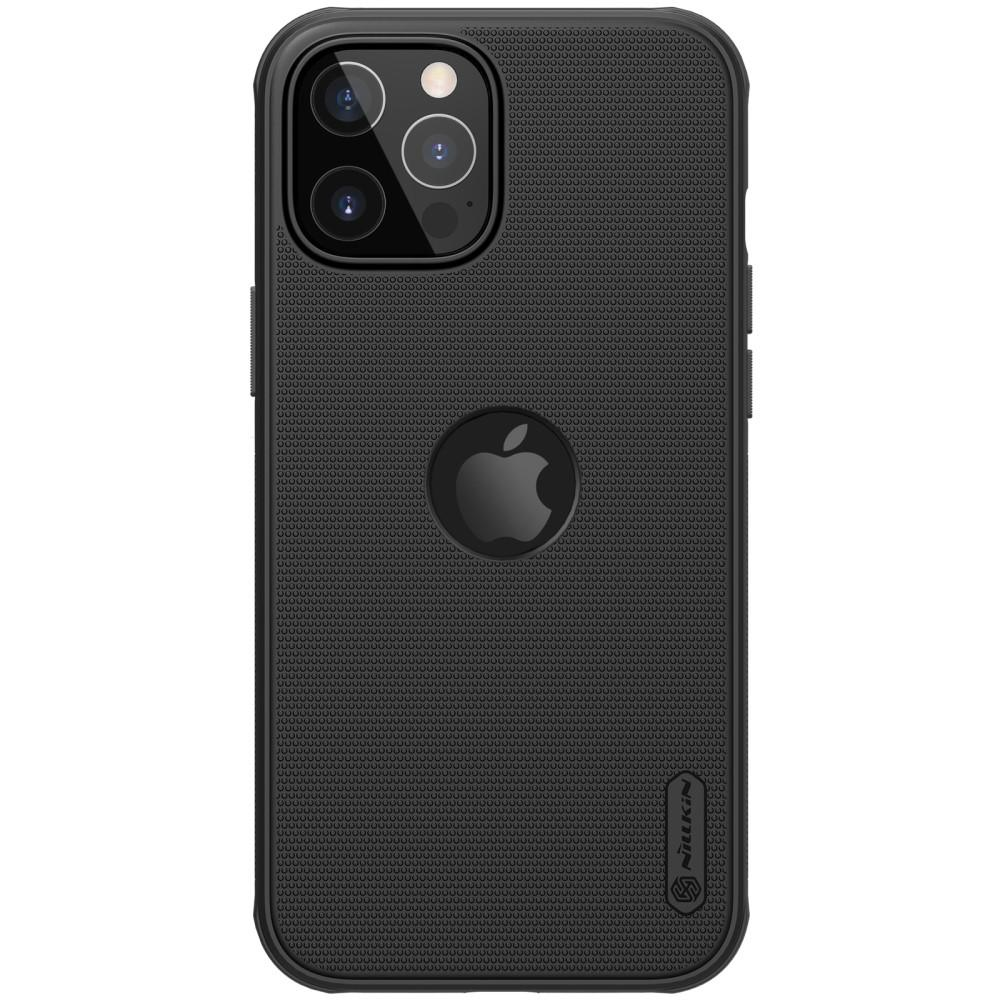 Super Frosted Shield Magnetic iPhone 12/12 Pro musta