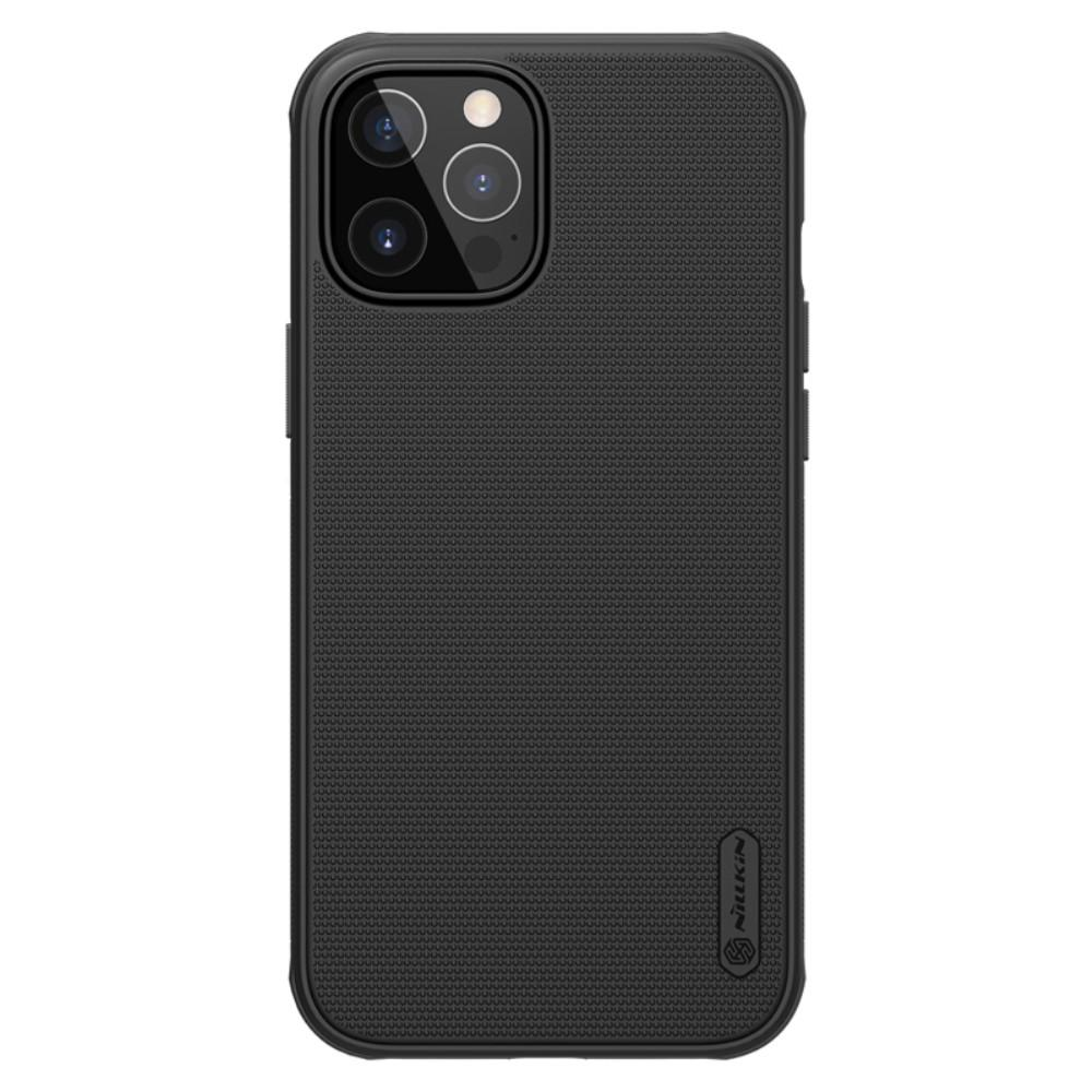 Super Frosted Shield iPhone 12 Pro Max musta