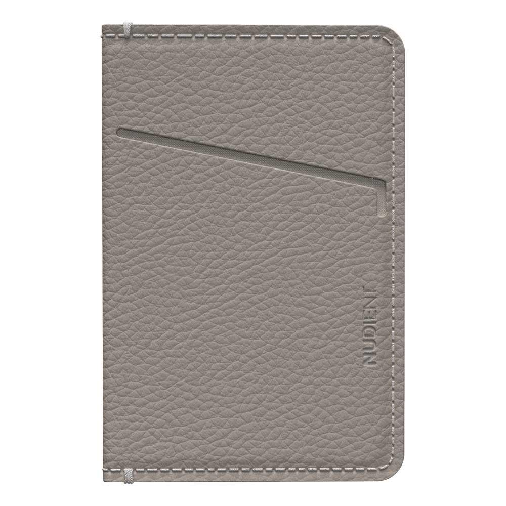 Thin Card Holder/Korthållare Clay Beige Leather