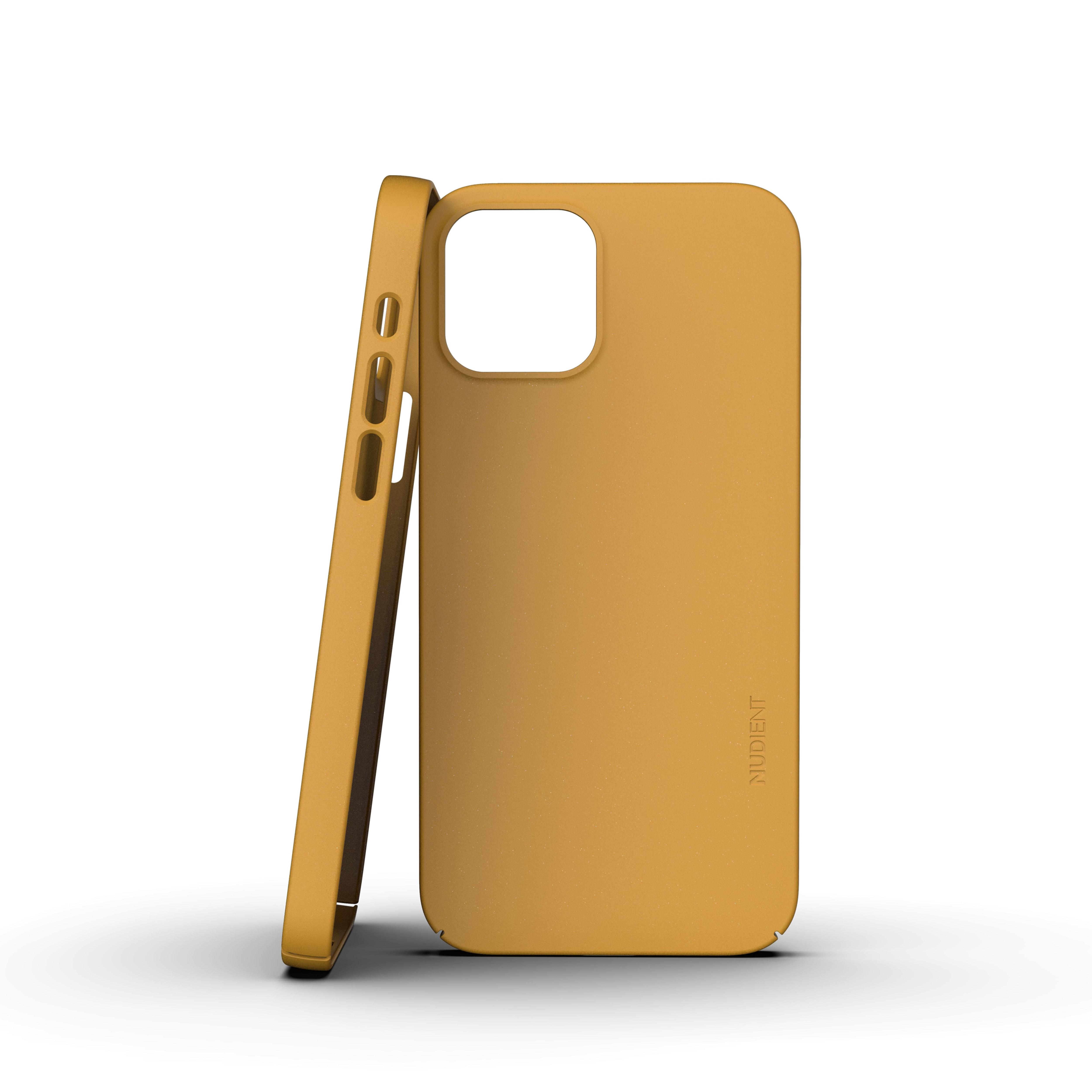 Thin Case V3 iPhone 12/12 Pro Saffron Yellow