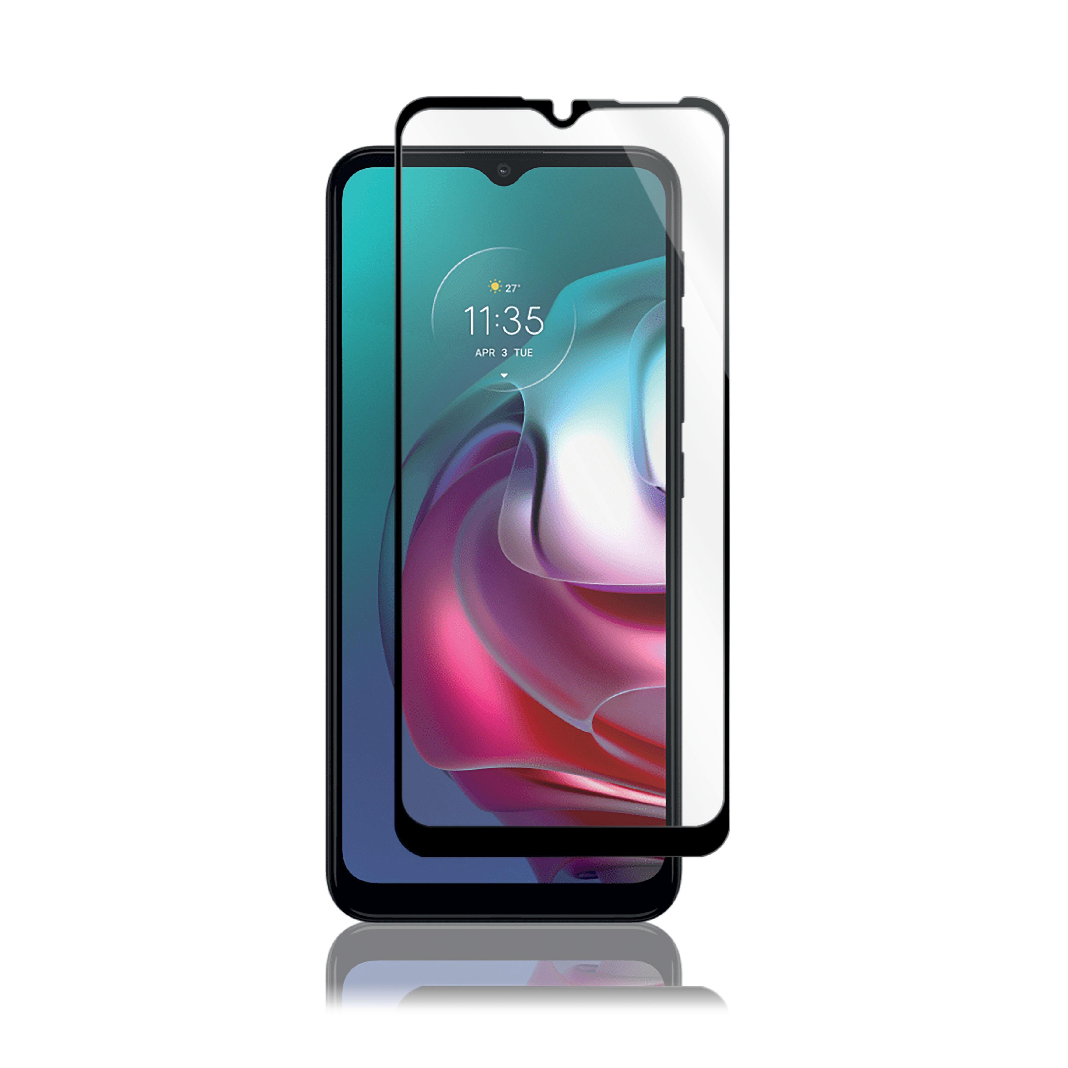 Full-Fit Glass Motorola Moto G20/G30/G50 Black