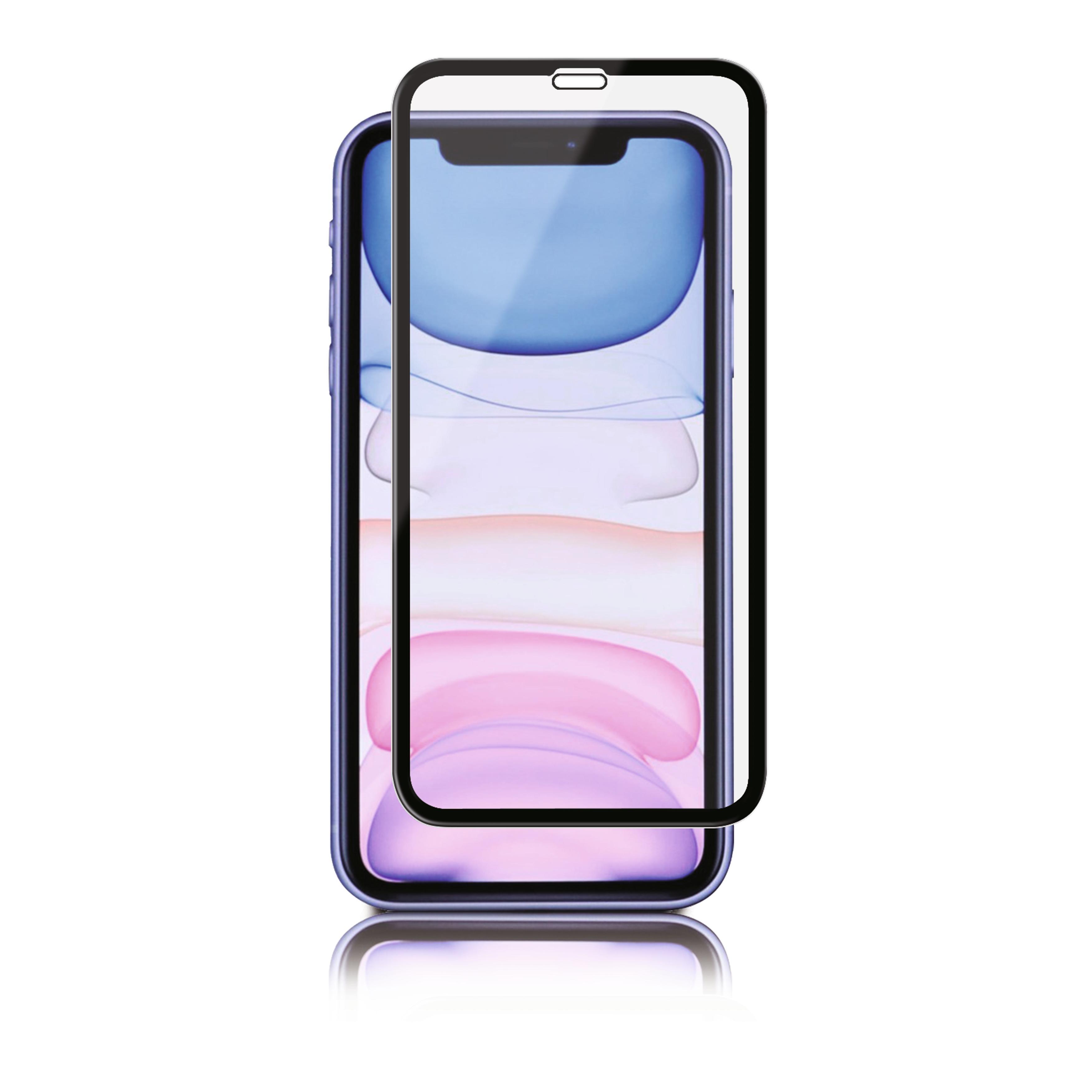 Full-Fit Glass iPhone 11/XR Black