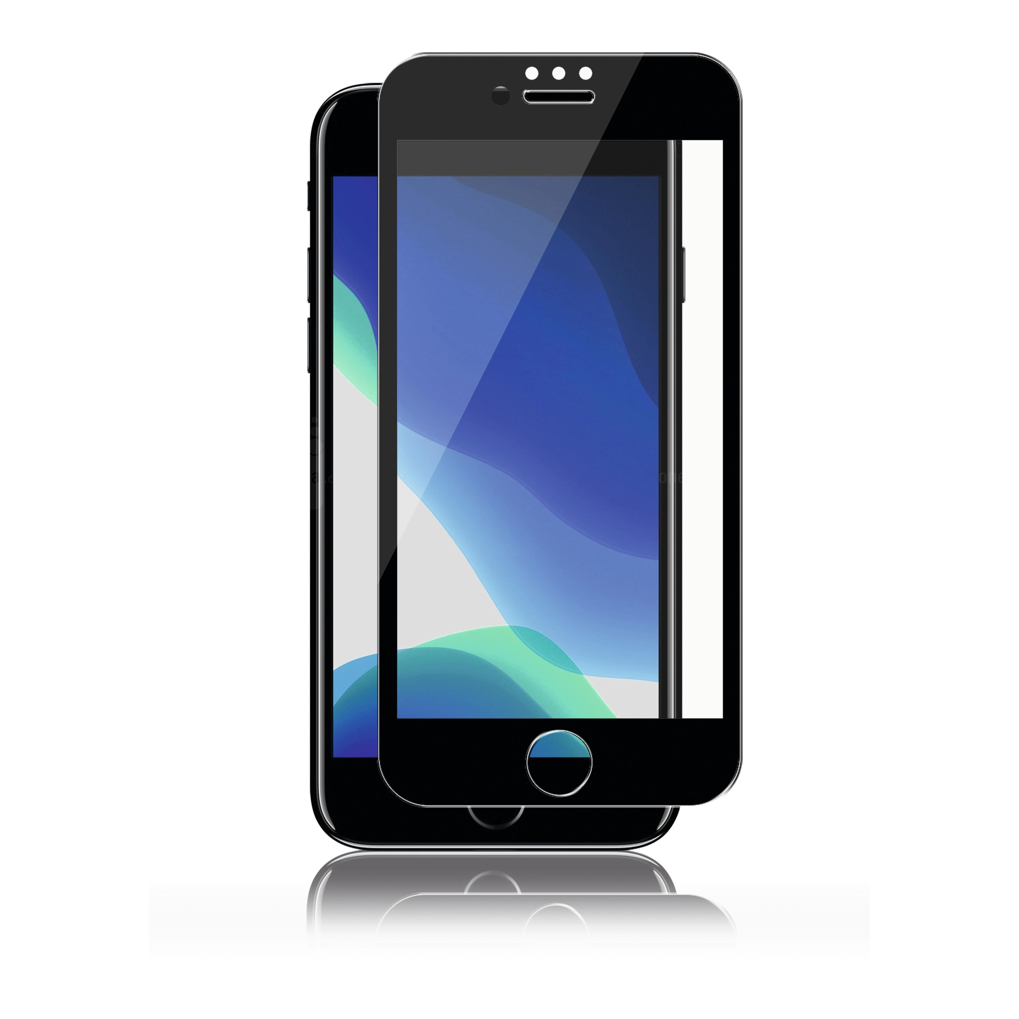 Full-Fit Glass iPhone SE 2020/8/7 Black