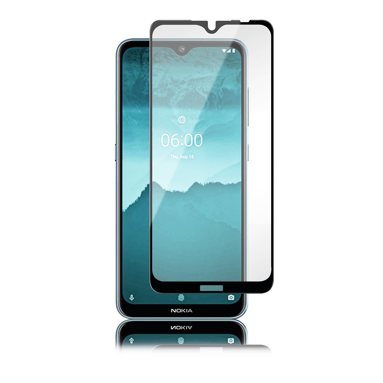 Full-Fit Glass Nokia 7.2/6.2 Black