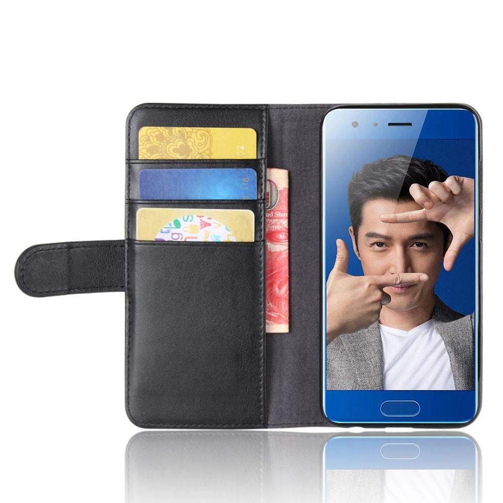 Aito Nahkakotelo Huawei Honor 9 musta