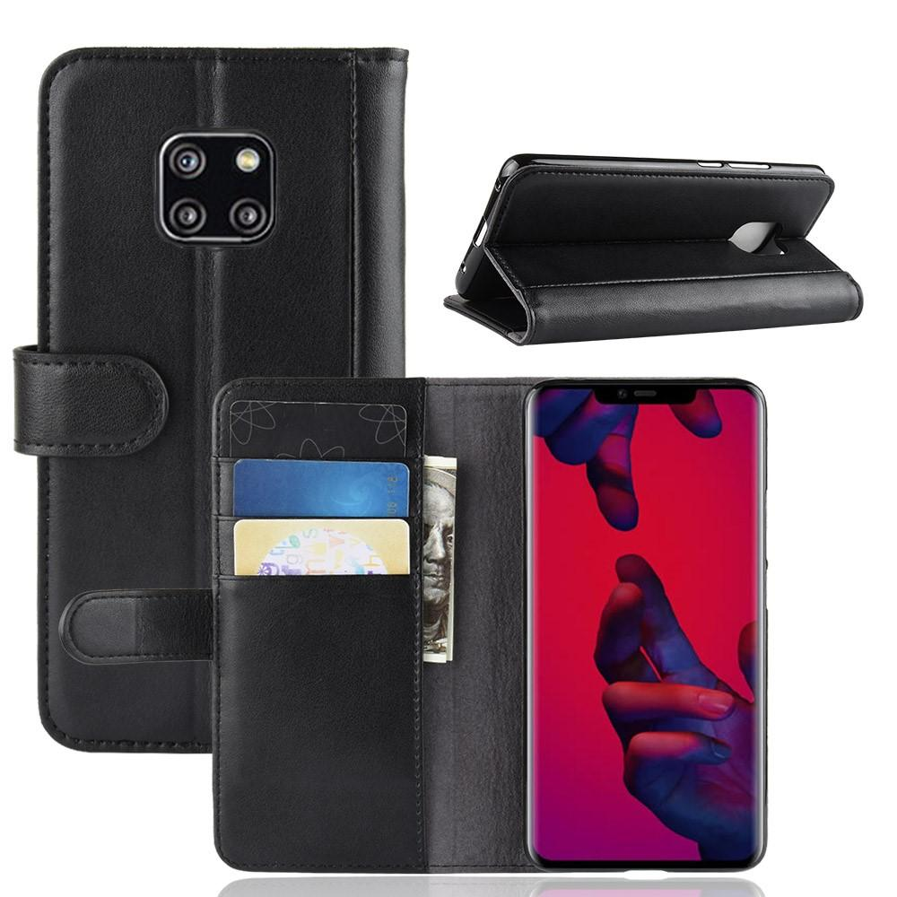 Aito Nahkakotelo Huawei Mate 20 Pro musta