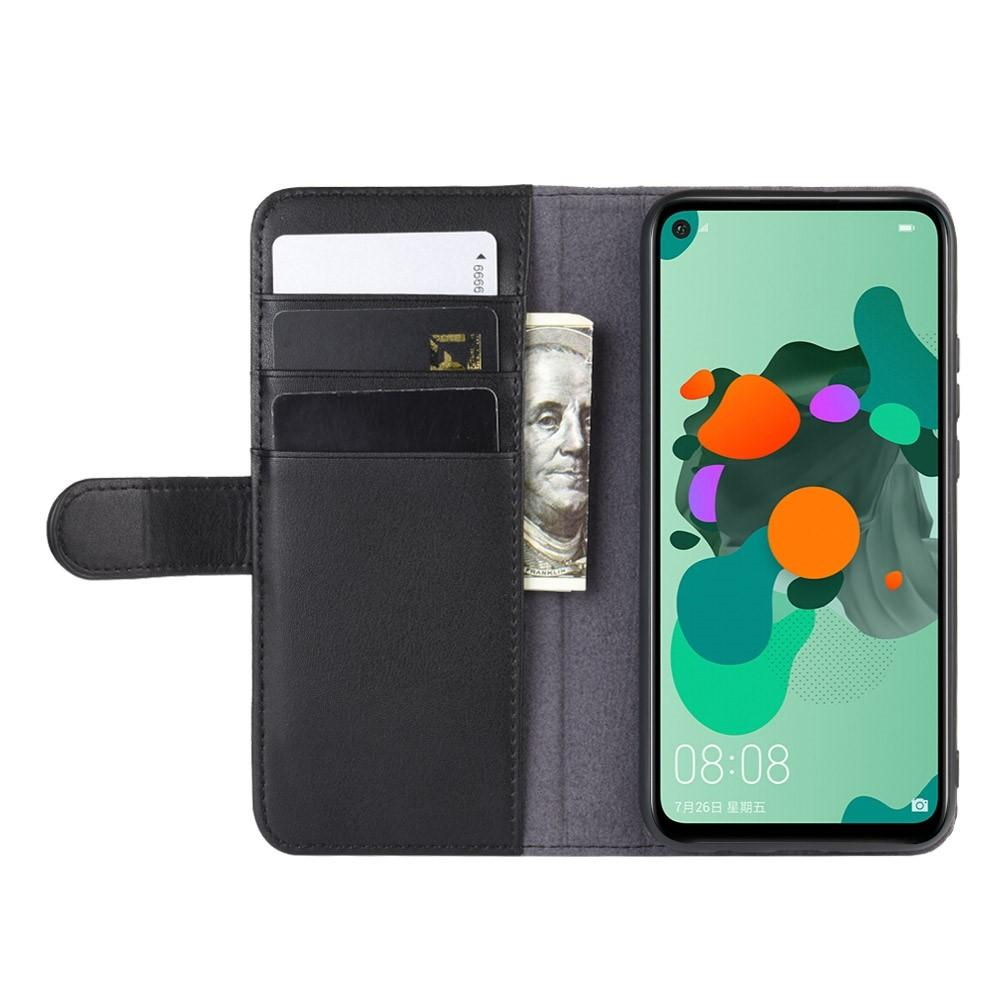 Aito Nahkakotelo Huawei Mate 30 Lite musta