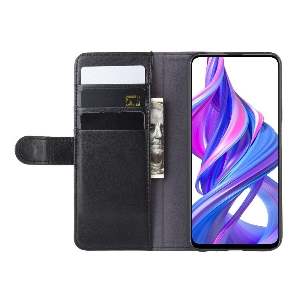 Aito Nahkakotelo Huawei P Smart Pro musta