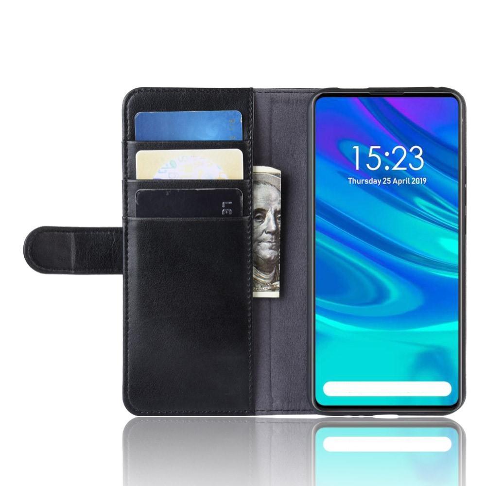 Aito Nahkakotelo Huawei P Smart Z musta