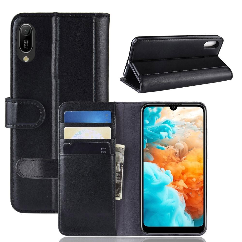 Aito Nahkakotelo Huawei Y6 2019 musta