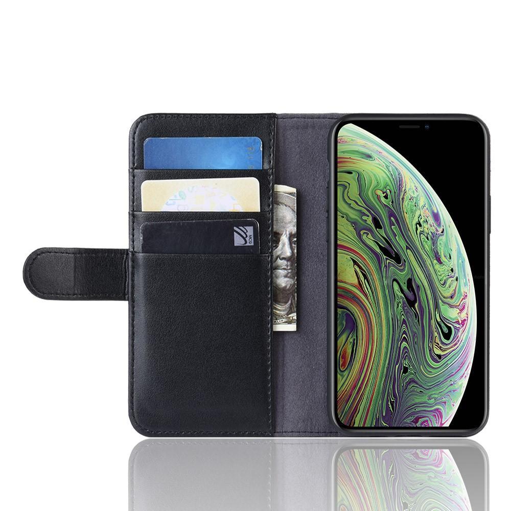 Aito Nahkakotelo iPhone 11 Pro musta