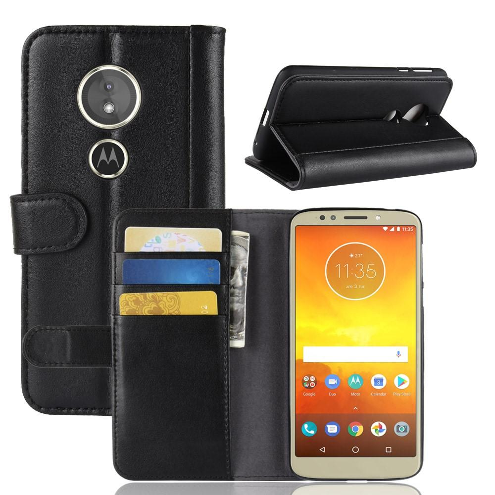 Aito Nahkakotelo Motorola Moto E5/G6 Play musta