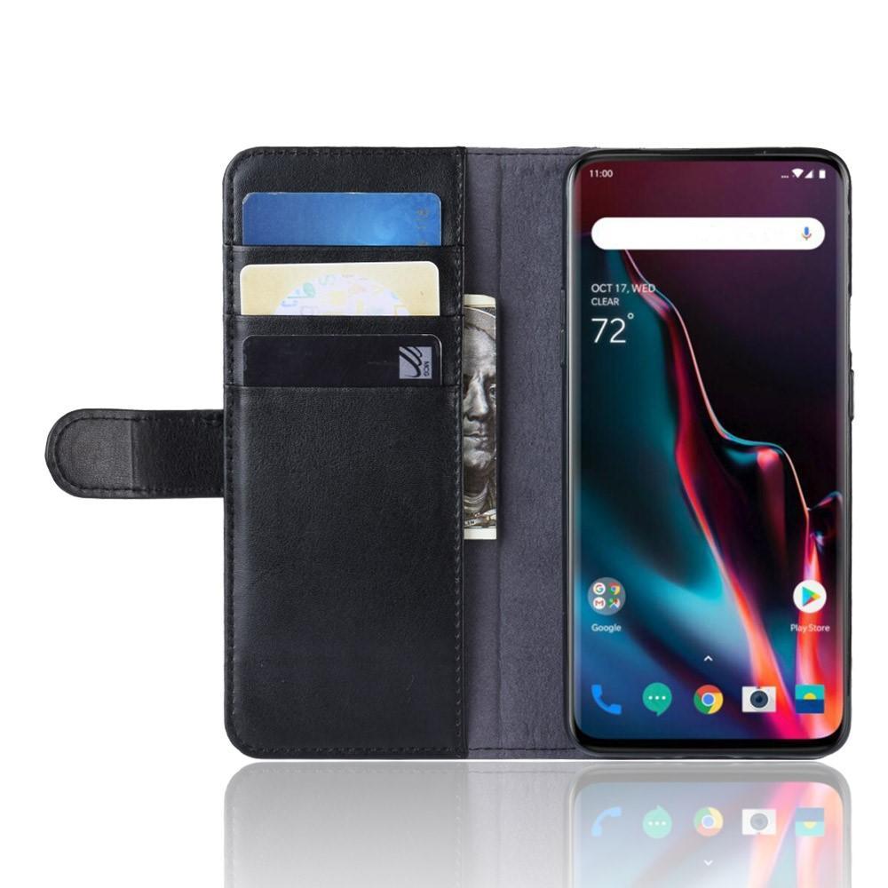 Aito Nahkakotelo OnePlus 7 Pro musta