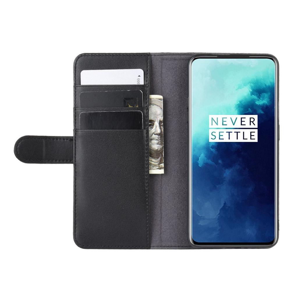 Aito Nahkakotelo OnePlus 7T Pro musta