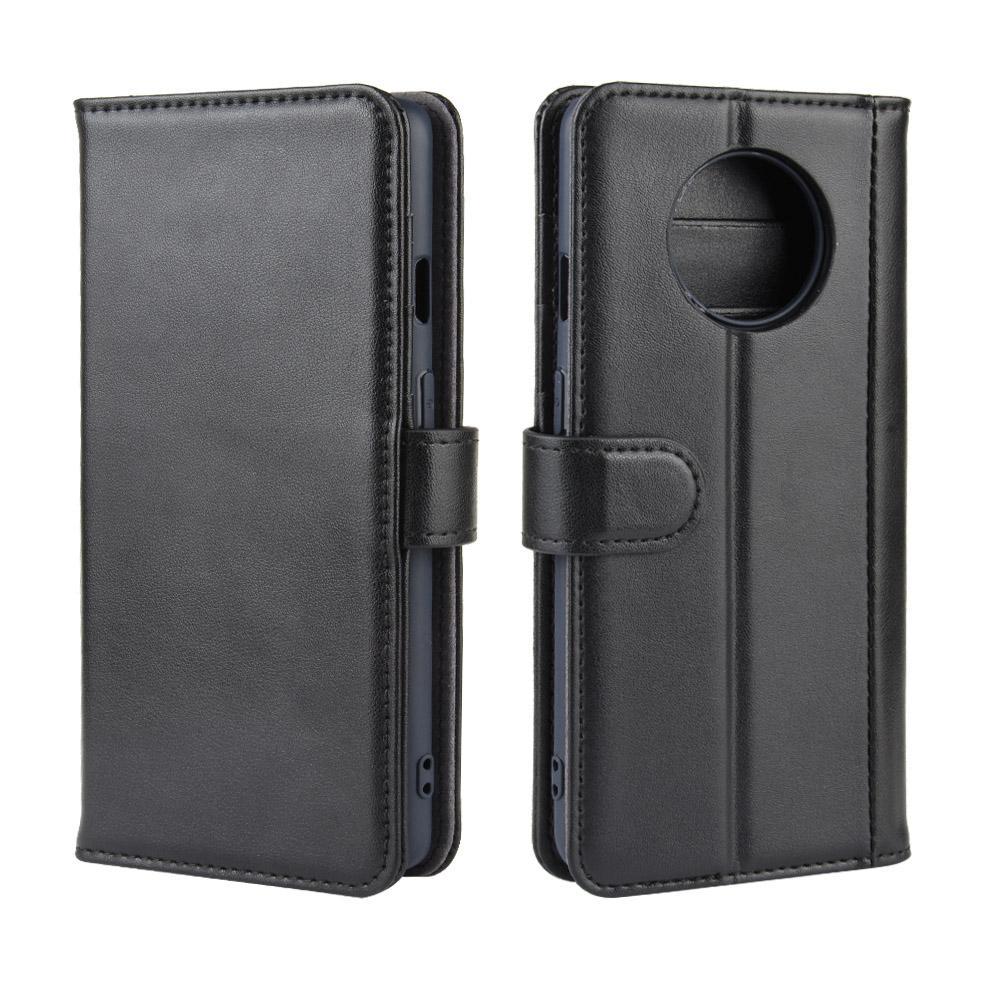 Aito Nahkakotelo OnePlus 7T musta