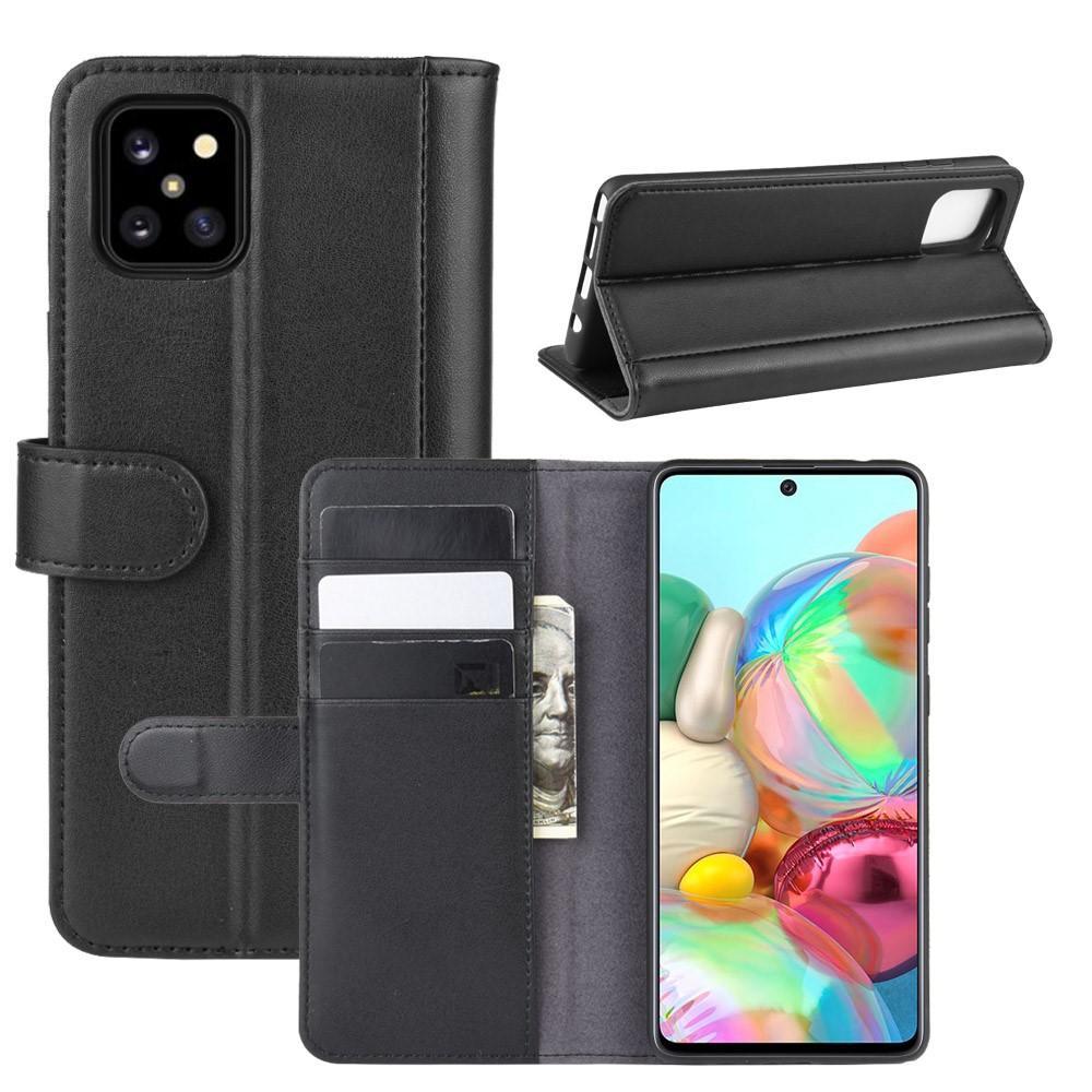 Aito Nahkakotelo Samsung Galaxy Note 10 Lite musta
