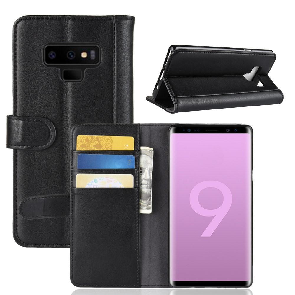 Aito Nahkakotelo Samsung Galaxy Note 9 musta