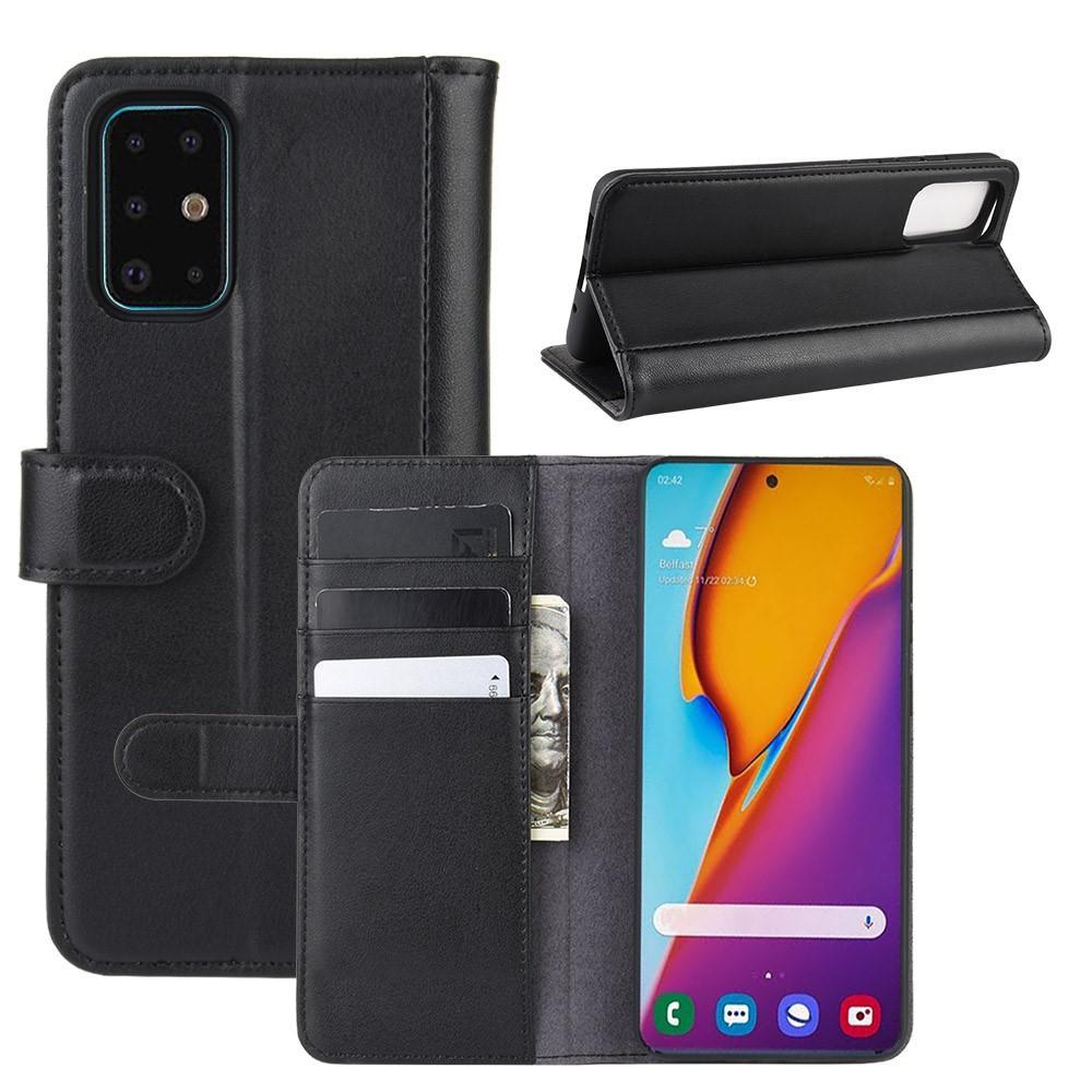 Aito Nahkakotelo Samsung Galaxy S20 Plus musta