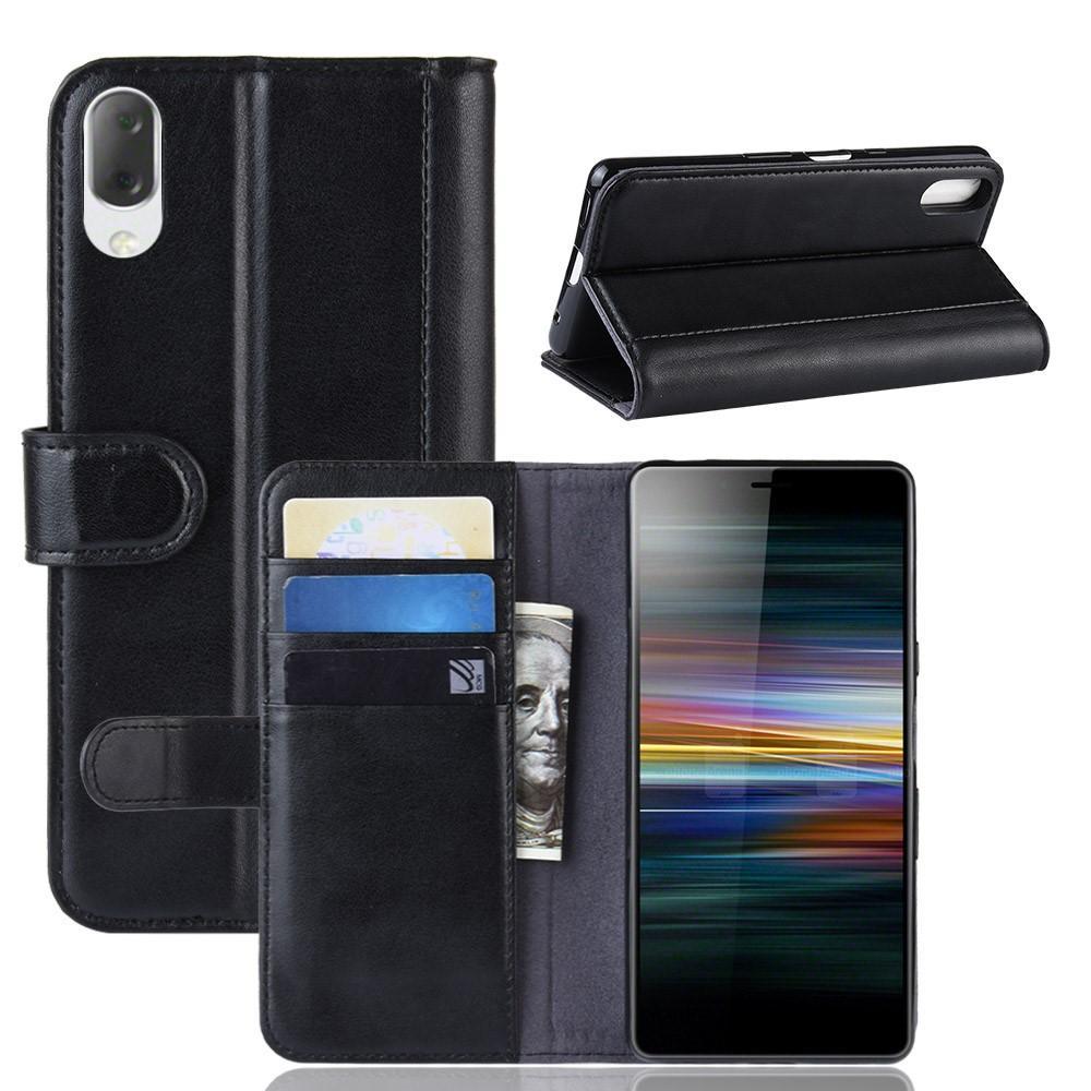 Aito Nahkakotelo Sony Xperia L3 musta