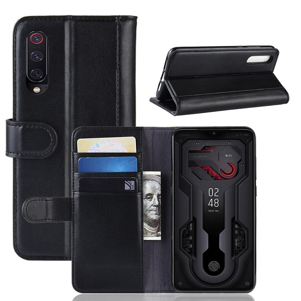 Aito Nahkakotelo Xiaomi Mi 9 musta