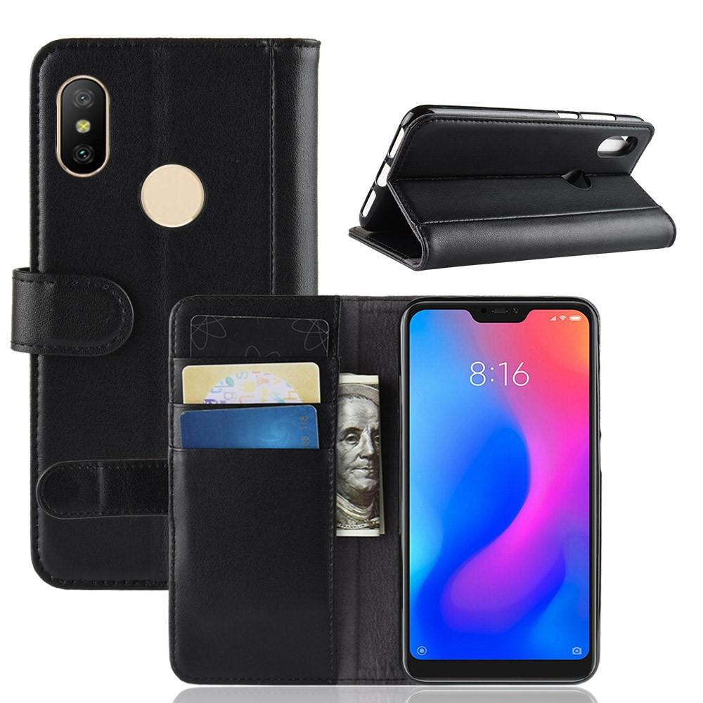 Aito Nahkakotelo Xiaomi Mi A2 Lite musta