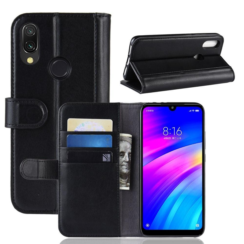 Aito Nahkakotelo Xiaomi Redmi 7 musta