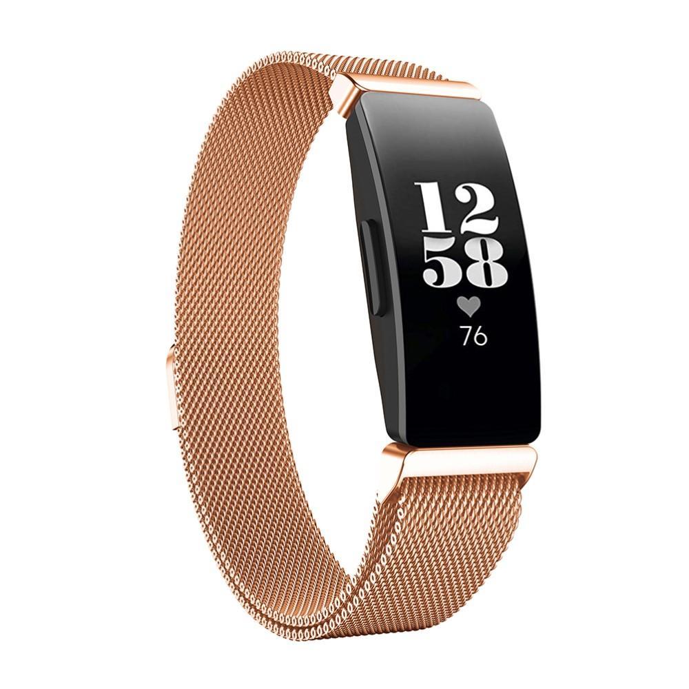 Ranneke Milanese Fitbit Inspire/Inspire HR/Inspire 2 ruusukulta