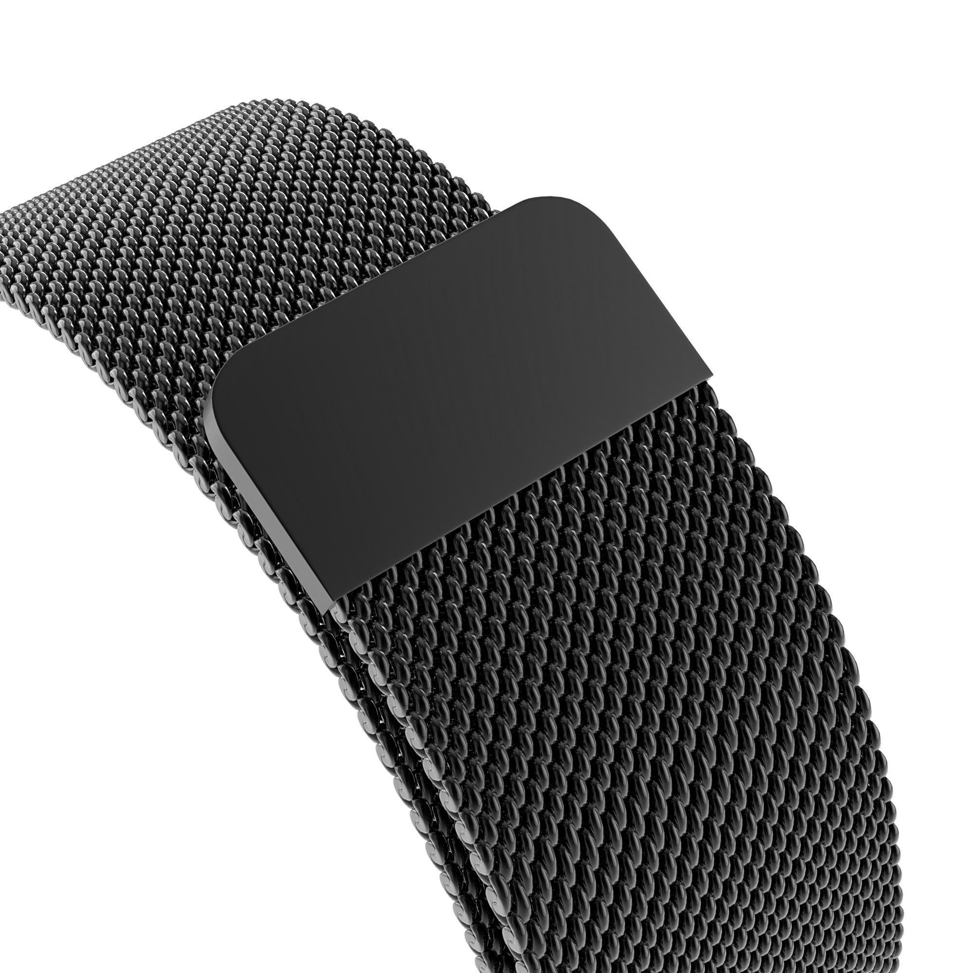 Ranneke Milanese Loop Apple Watch 38/40/41 mm musta