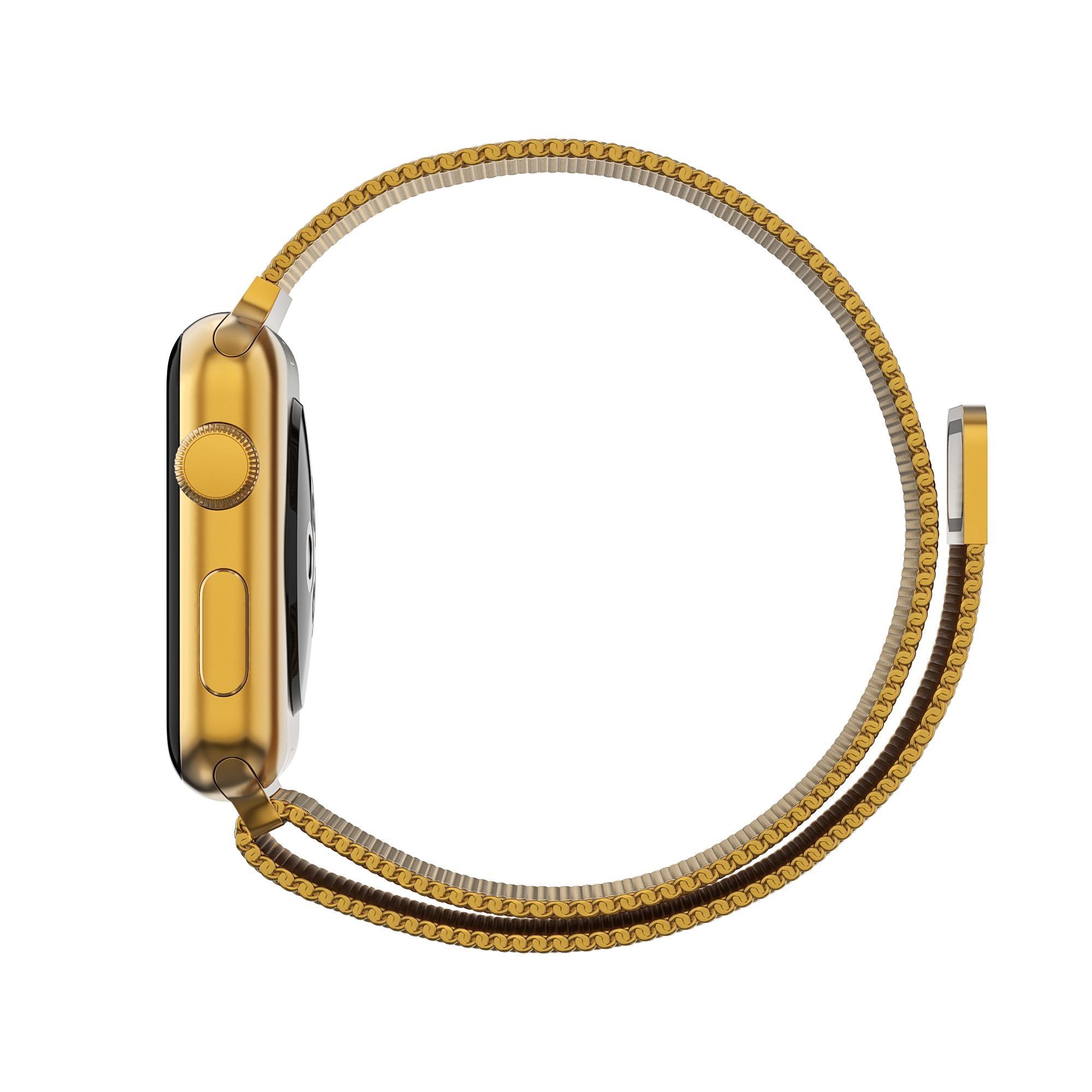 Ranneke Milanese Loop Apple Watch 42/44/45 mm kulta