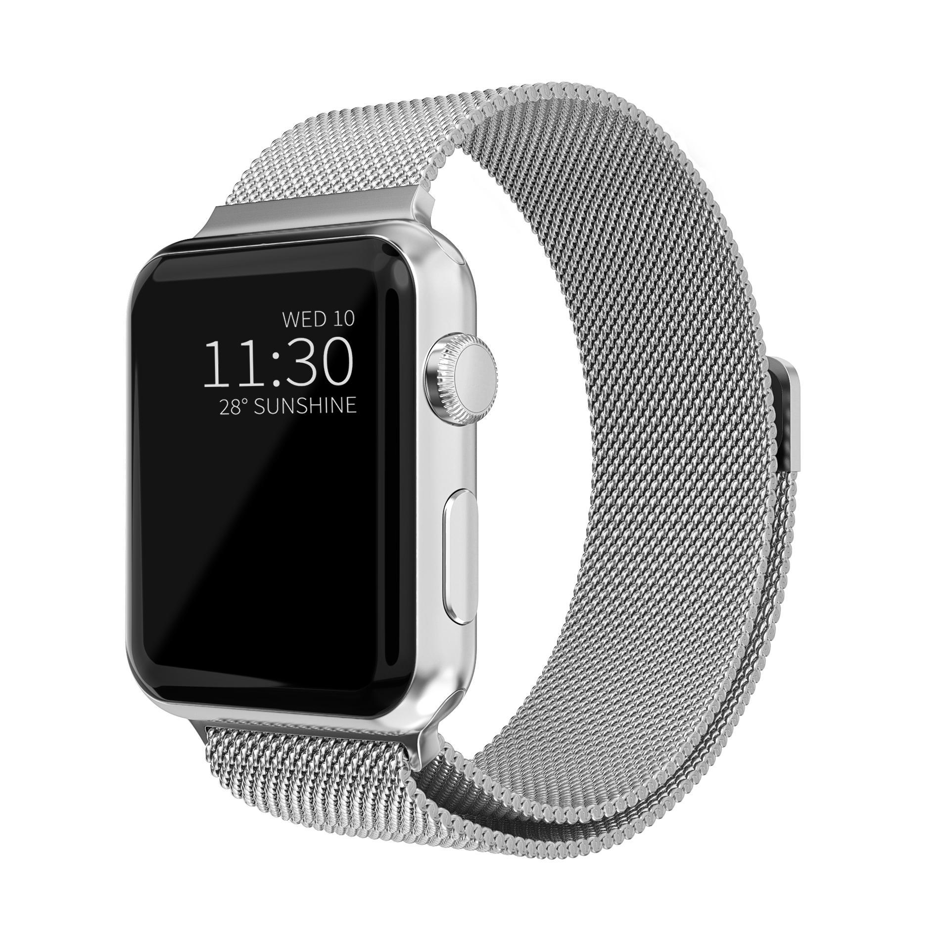 Ranneke Milanese Loop Apple Watch 42/44/45 mm hopea