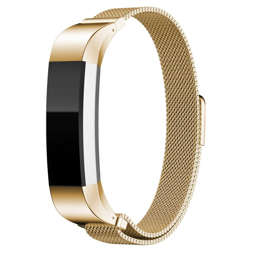 Ranneke Milanese Loop Fitbit Alta/Alta HR kulta