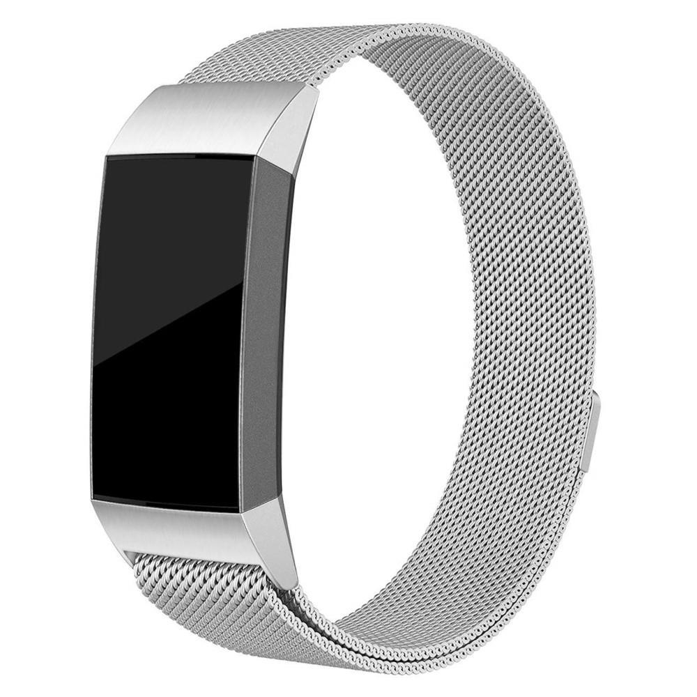 Ranneke Milanese Loop Fitbit Charge 3/4 hopea