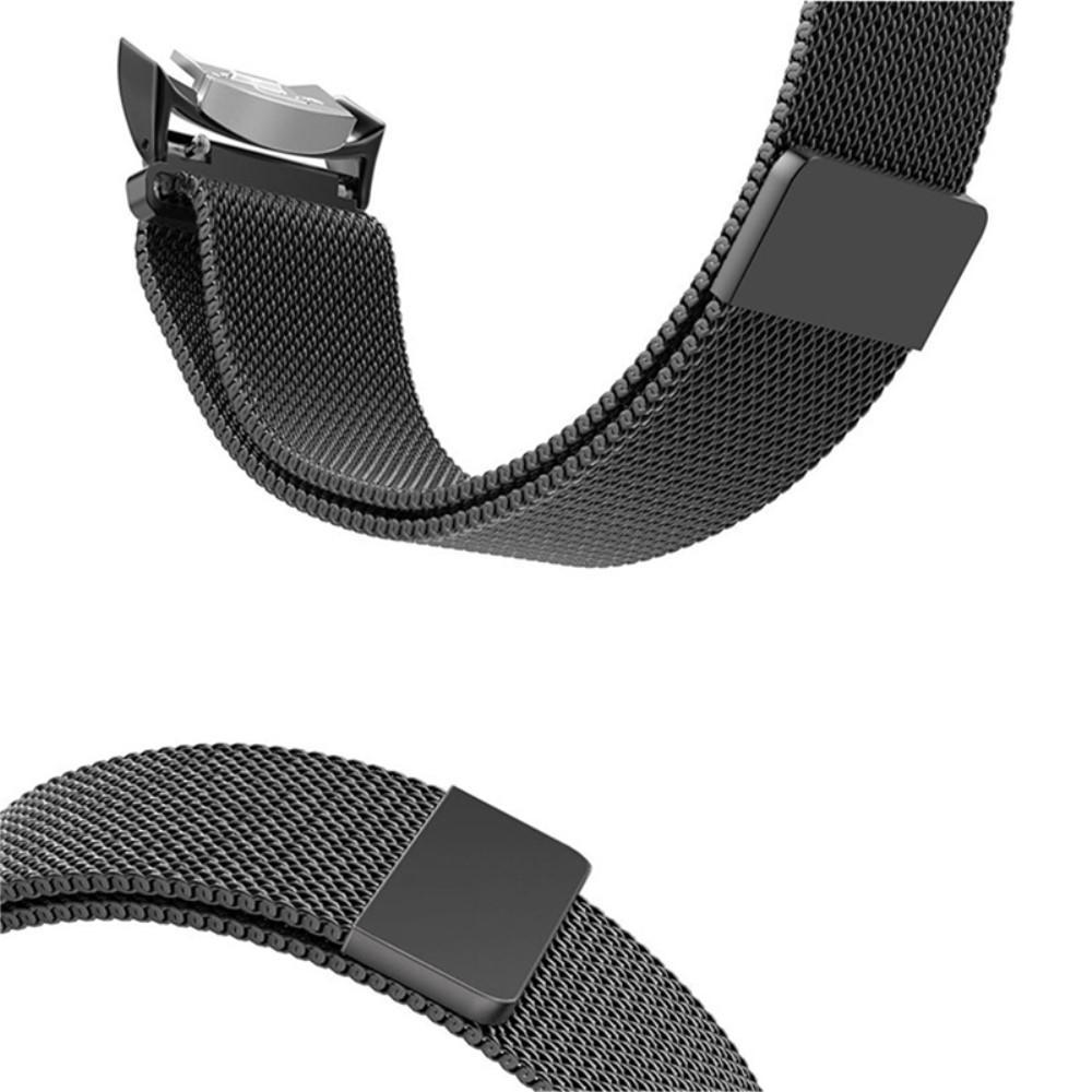 Ranneke Milanese Loop Samsung Gear S2 musta