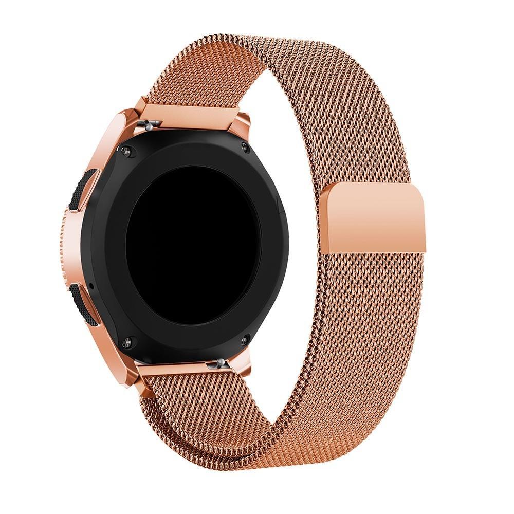 Ranneke Milanese Samsung Galaxy Watch 42mm ruusukulta