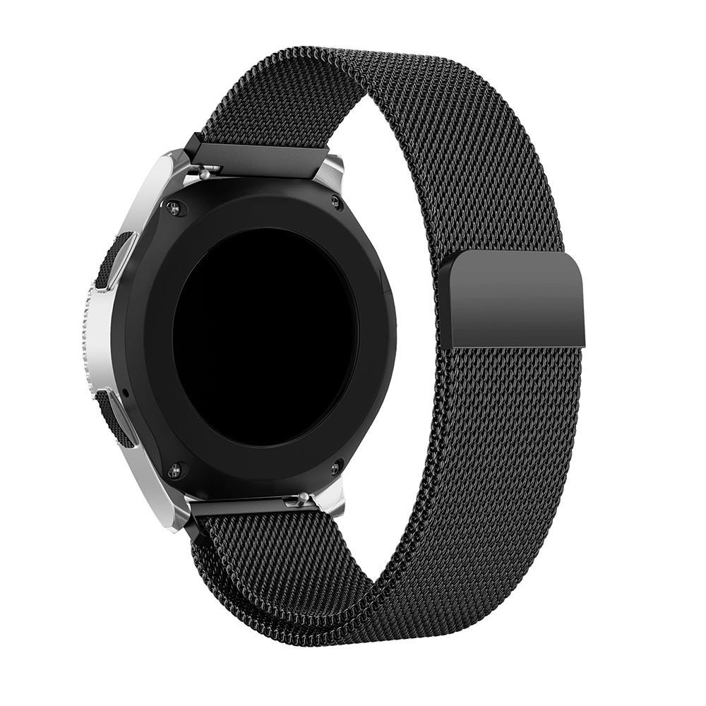 Ranneke Milanese Samsung Galaxy Watch 46mm musta