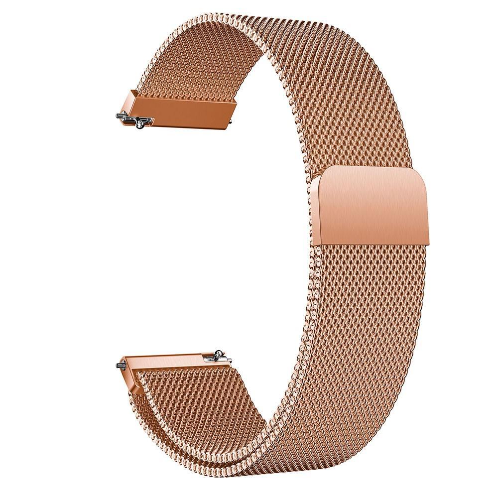 Ranneke Milanese Samsung Galaxy Watch Active ruusukulta