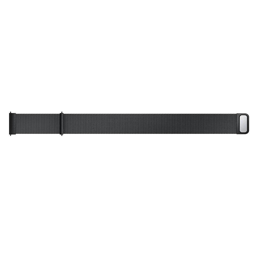 Ranneke Milanese Samsung Galaxy Watch Active musta