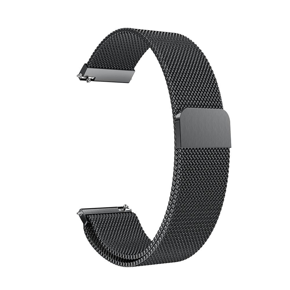 Ranneke Milanese Samsung Gear Sport musta