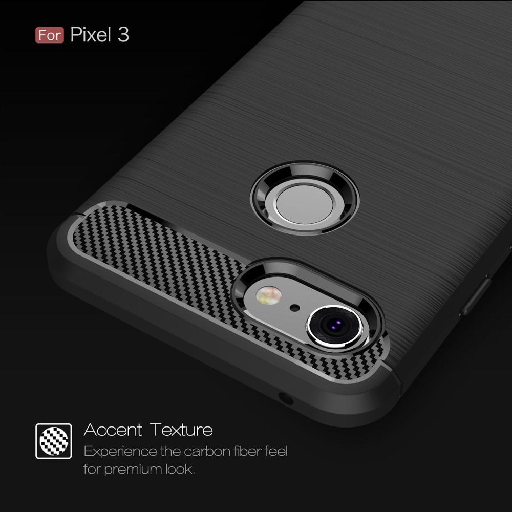 Brushed TPU Kuori for Google Pixel 3 black