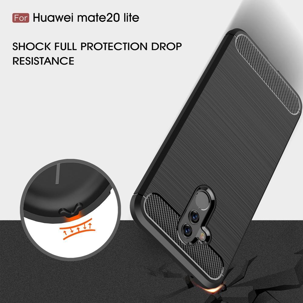 Brushed TPU Kuori for Huawei Mate 20 Lite black